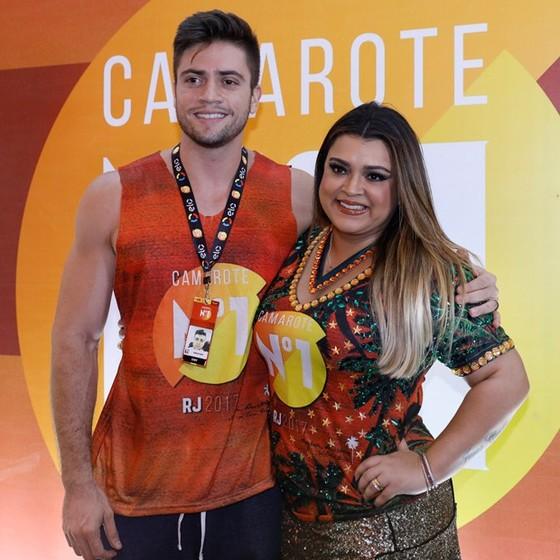 Preta Gil e o marido, Rodrigo Godoy, que têm planos de aumentar a família (Foto: Divulgação)