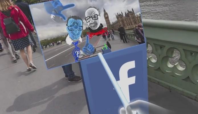 Facebook está testando a plataforma chamada de Camera Effects Platform (Foto: Reprodução/Camila Peres)