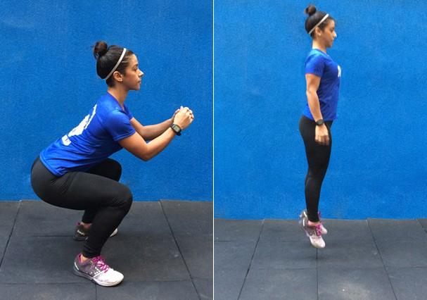 Jump squat (Foto: Divulgação)