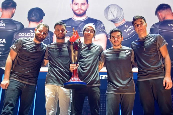 SK Gaming; ECS; CS:GO (Foto: Divulgação / ECS)