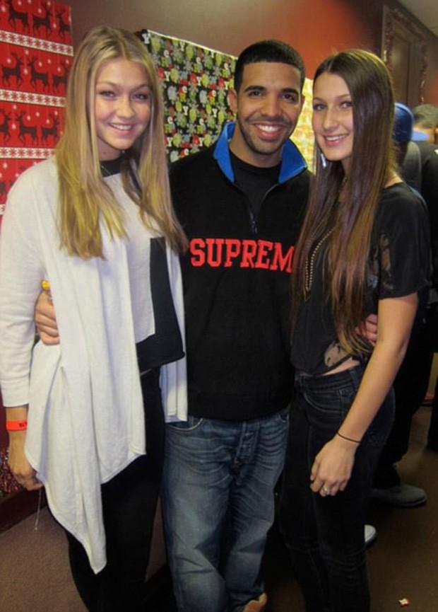 Gigi, Drake e Bella (Foto: Reprodução)