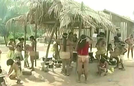 Ideia é criar uma atividade de turismo ecológico nas aldeias (Foto: Jornal de Rondônia)
