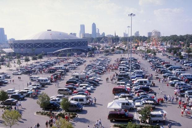 Estacionamento (Foto: Vincent Laforet/Getty Images)