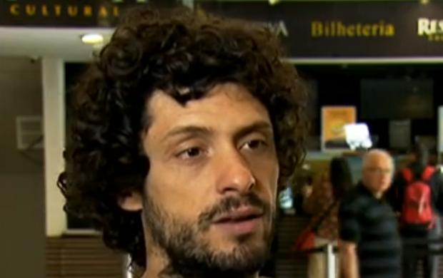 Santiago Dulce é um dos diretores do curta-metragem (Foto: Reprodução / SporTV)