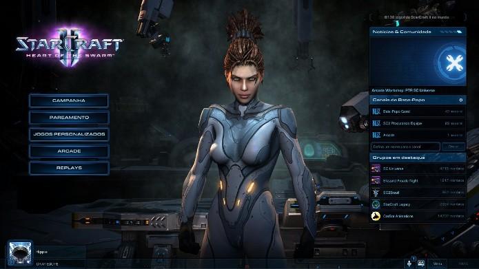 Starcraft 2: Aprenda a jogar o modo offline do game (Foto: Reprodução / João Moura)
