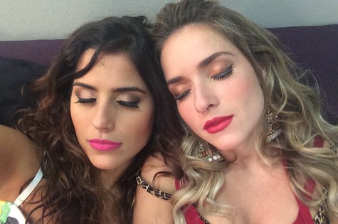 Camilla Camargo e Monique Alfradique (Foto: Divulgação)