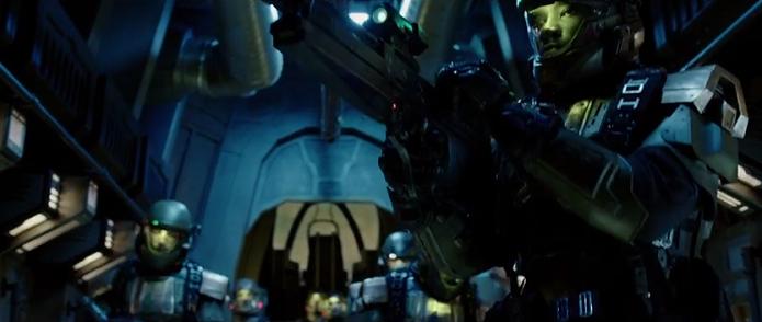 Halo: Nightfall, série com atores baseada na franquia Halo, ganhou novo trailer. (Foto: Reprodução/YouTube)