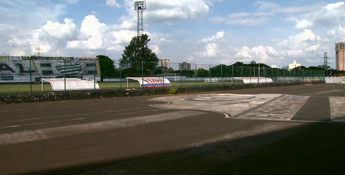 Estádio Palma Travassos, Comercial (Foto: Reprodução EPTV)