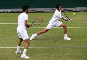 Marcelo Melo tênis Nottingham (Foto: Vipcomm)