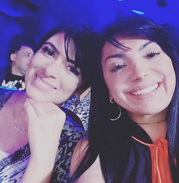 Fernanda Brum e Eyshila  (Foto: Reprodu��o)