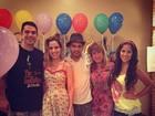 Wanessa comemora aniversário com festa em família