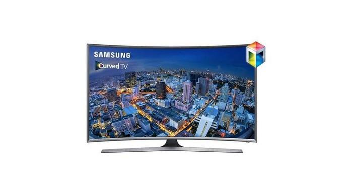 Smart TV da Samsung tem tela menor curva com 32 polegadas em Full HD (Foto: Divulgação/Samsung)