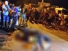 Casal com passagem pela polícia é alvejado em cima de motocicleta