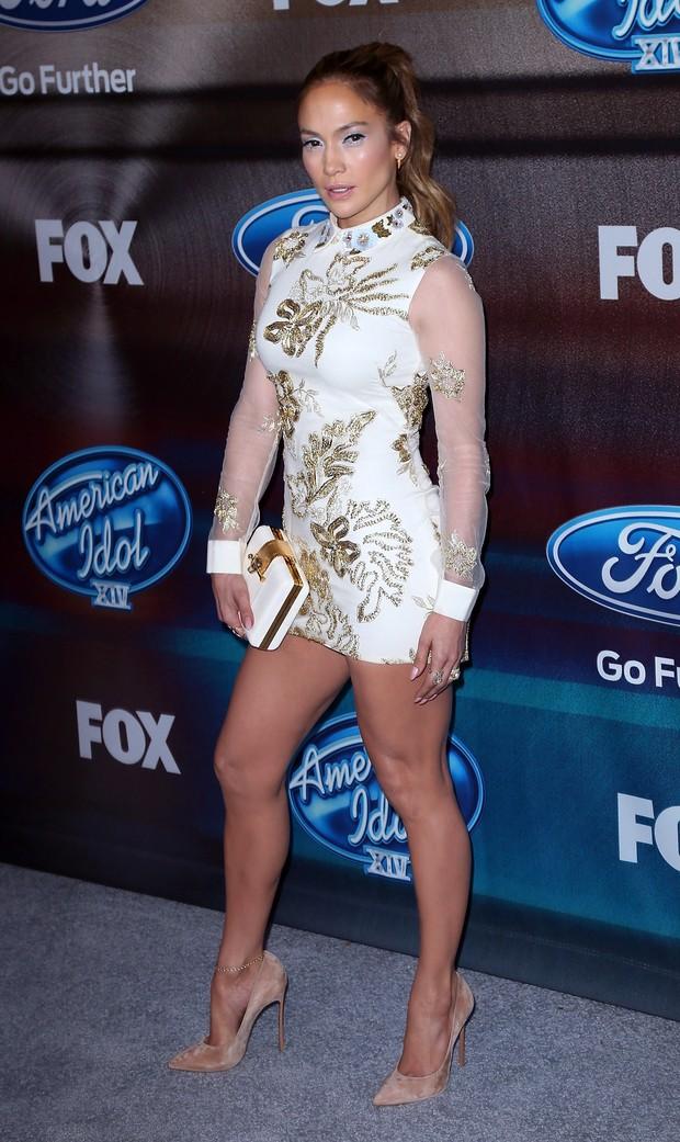 Jennifer Lopez em festa em Los Angeles, nos Estados (Foto: David Livingston/ Getty Images)