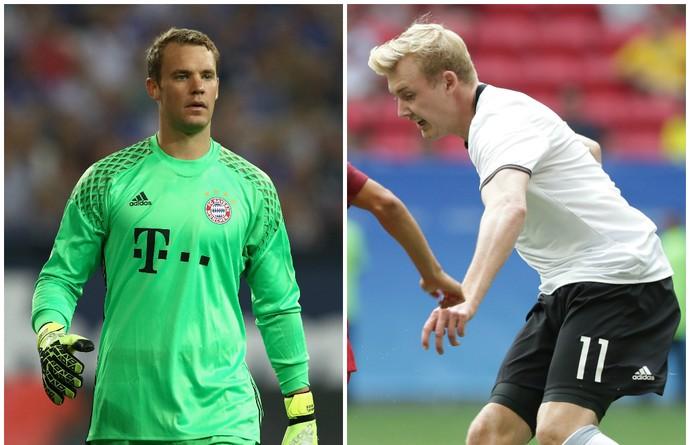 Bruxa solta! Alemanha perde Neuer e Julian Brandt contra San Marino 1e365e97e1129