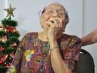 Aos 104 anos, idosa sabe tabuada de cor e revela segredo da longevidade