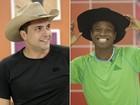 Segura, peão! Daniel e Edílson usam look de vaqueiro para dançar o sertanejo