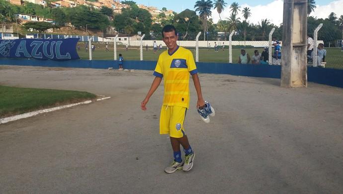 Didira, meia do CSA (Foto: Augusto Oliveira / GloboEsporte.com)