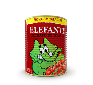 Extrato de tomate da marca Elefante (Foto: Reprodução)
