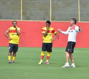 Vitória; Mancini; Treino; Barradão (Foto: Francisco Galvão/EC Vitória)