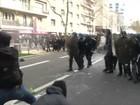 Estudantes franceses protestam contra projeto de lei trabalhista