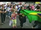 Cerca de dez mil fiéis participam de 'Marcha para Jesus' em Uberlândia