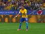 Em lance de primeiro gol do Brasil, Neymar reclamava e pedia a bola