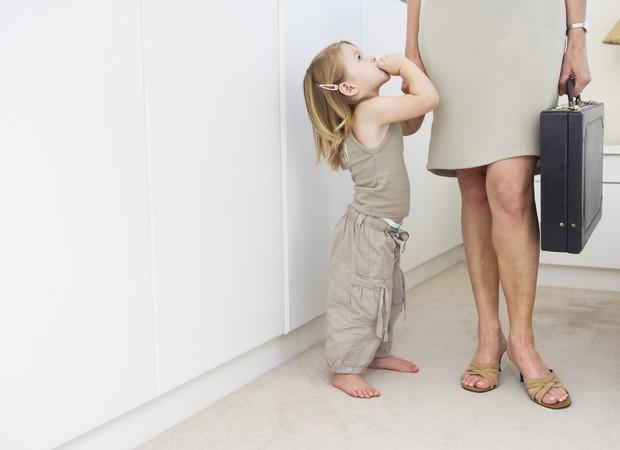 Mães que trabalham fora são exemplo (Foto: Thinkstock)
