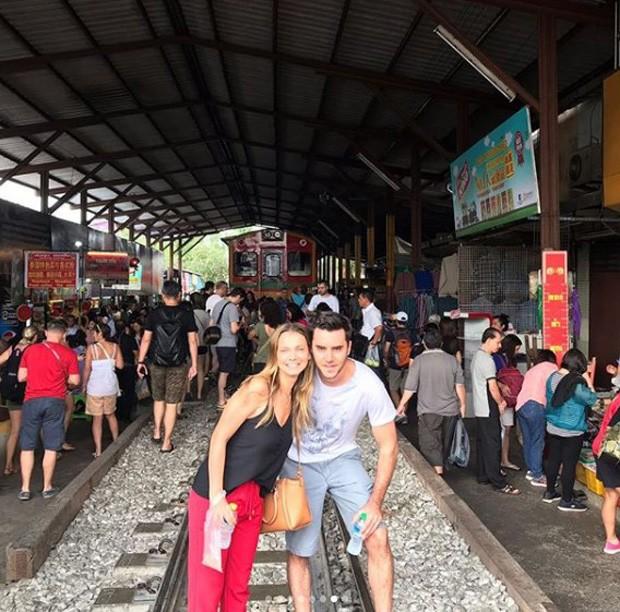 Milena Toscano e Pedro Ozores em lua de mel na Tailândia (Foto: Reprodução/Instagram )