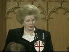 Margaret Thatcher morre na Inglaterra