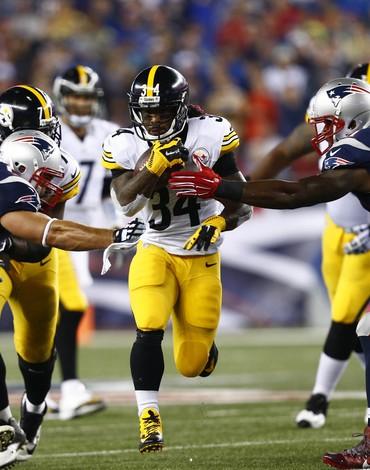 DeAngelo Williams - Steelers x Patriots NFL (Foto: Reuters)