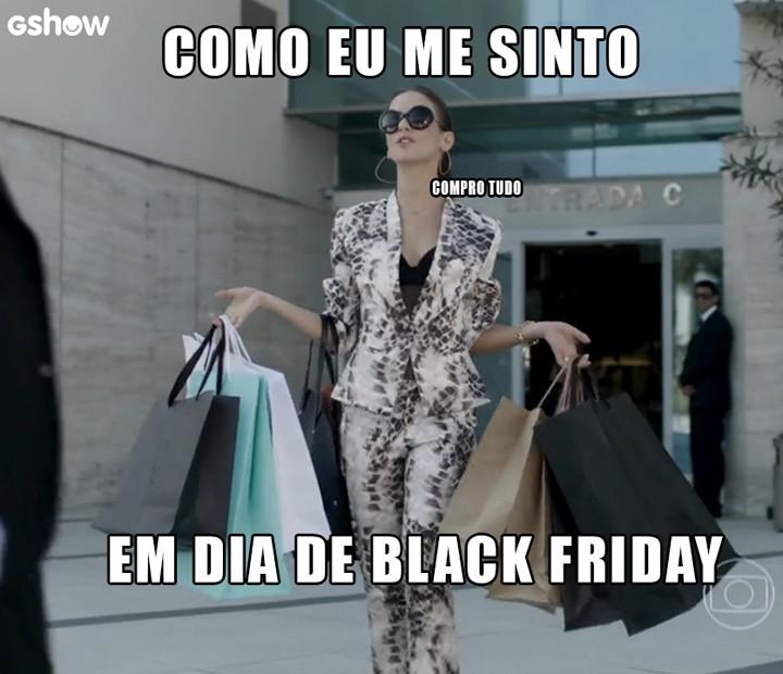 Andréa investe em compras (Foto: TV Globo)