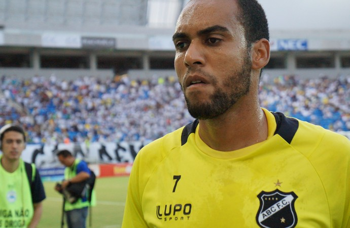 Bruno Fuso, goleiro do ABC (Foto: Augusto Gomes)