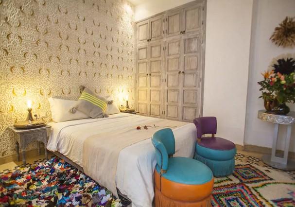 Riad (tradicional casa marroquina) (Foto: Divulgação)