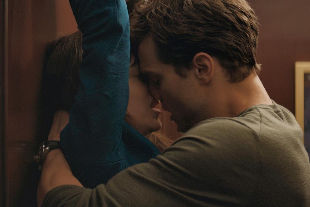 Christian Grey e Anastasia Steele, protagonistas de Cinquenta Tons de Cinza (Foto: Reprodução)