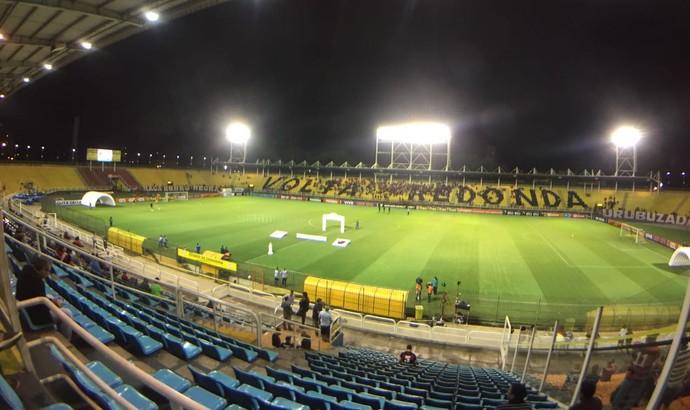 Raulino de Oliveira - Flamengo x Vitória (Foto: Gustavo Rotstein)
