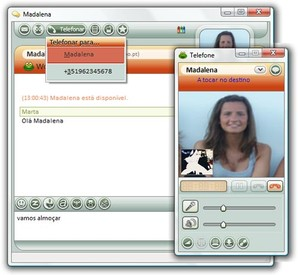Chamadas por Voz e Vídeo SAPO Messenger