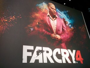 11/06 - 'Far Cry 4' é destaque da Ubisoft na E3 (Foto: Bruno Araujo/G1)