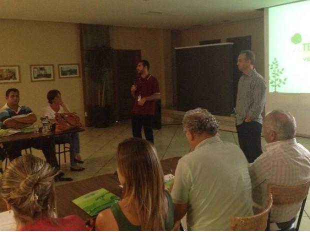 Durante o evento foram apresentados os resultados do projeto em 2014 (Foto: Fernando Daguano/ TV TEM)