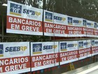 Greve dos bancários fecha 63% das agências na região de Ribeirão Preto