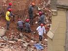 Bombeiros de SP acham fragmentos de ossos em escombros de prédio