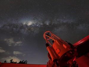 Céu a partir do Observatório de Campinas  (Foto: Arquivo Pessoal/ Rafael Defavari)