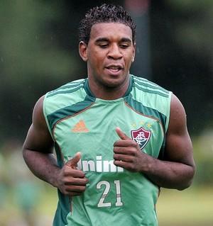 Márcio Rosário - Fluminense - Náutico (Foto: Dhavid Normando/Photocamera)