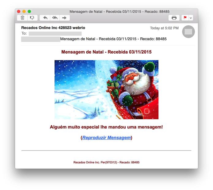 Mensagens de Natal e Black Friday podem enganar consumidores (Foto: Divulgação/Kaspersky Lab)