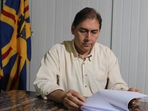 Prefeito de Campo Grande nega irregularidades com dinheiro público (Foto: Nadyenka Castro/ G1 MS)