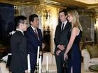 Filha de Trump foi à reunião do presidente eleito com premiê japonês