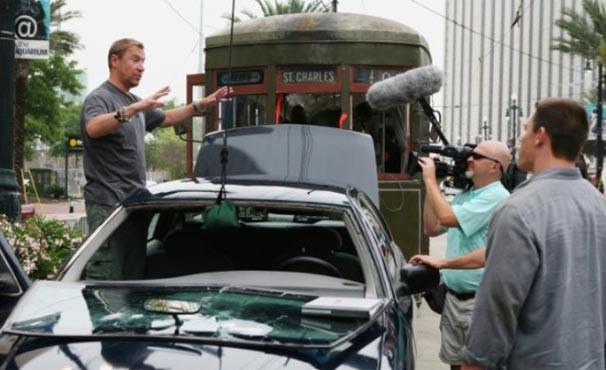 Renny Harlin gravou participação especial no filme (Foto: Divulgação / Reprodução)
