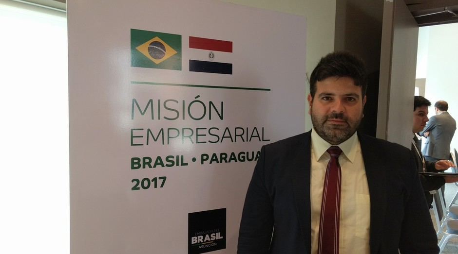Alexandre Rodrigues de Andrade, da Colly: empresa participa de missão no Paraguai (Foto: Fabiano Candido)