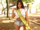 Miss Bumbum 2015 Suzy Cortez mostra seus atributos para o EGO