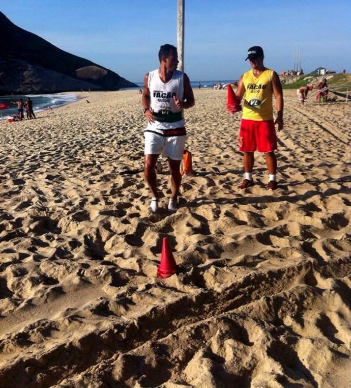 Жоао Карлос тренируется в отпуске
